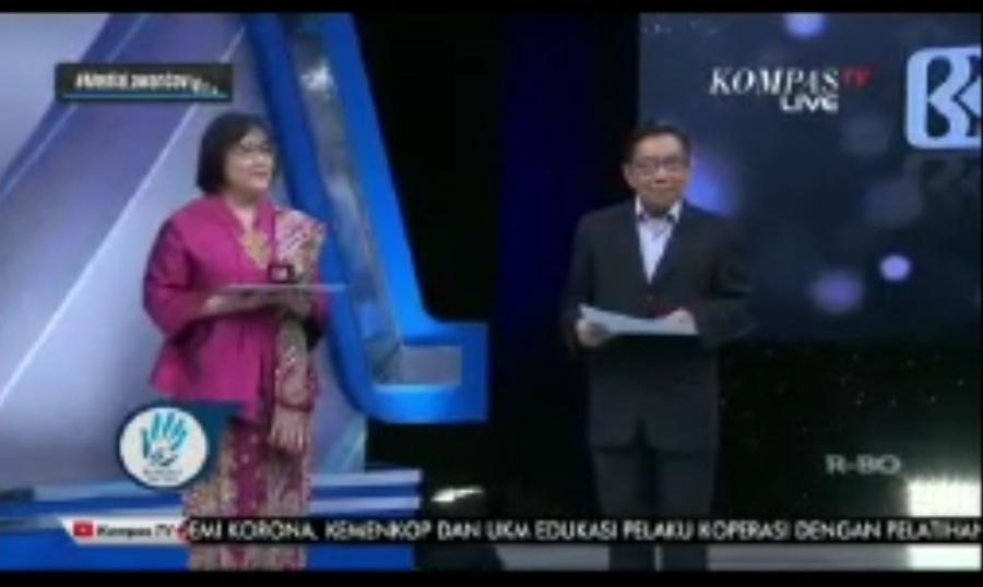 Ketua II PB PDHI Raih Penghargaan Cendikiawan Berdedikasi dari Kompas
