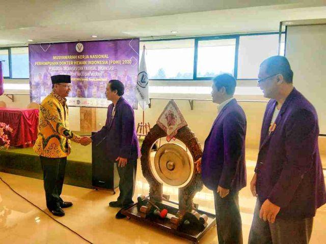 Gubernur Bengkulu Jadi Keynote Speaker di Mukernas PDHI 2020