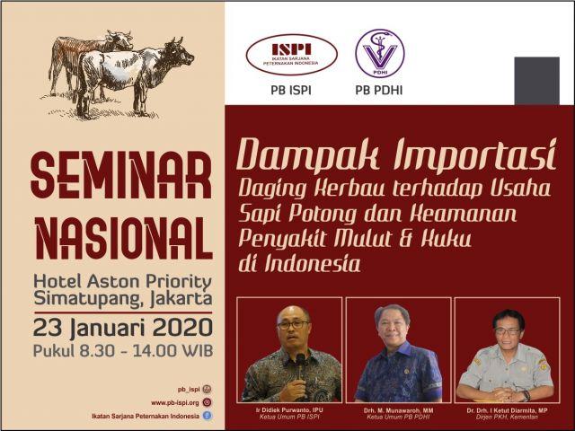 Seminar Nasional Dampak Importasi Daging Kerbau
