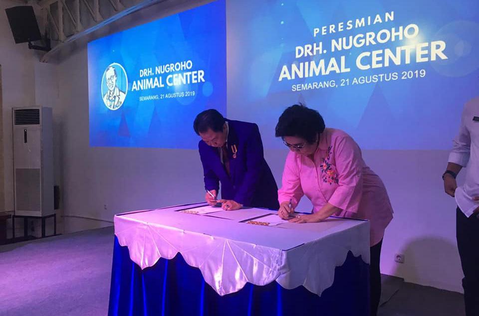 Animal Center Drh. Nugroho Jadi Rujukan Pusat Keswan Indonesia